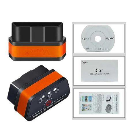 Aвтосканер Vgate iCar2 v1.5 ELM327 Bluetooth / блютуз OBD 2 / ОБД 2