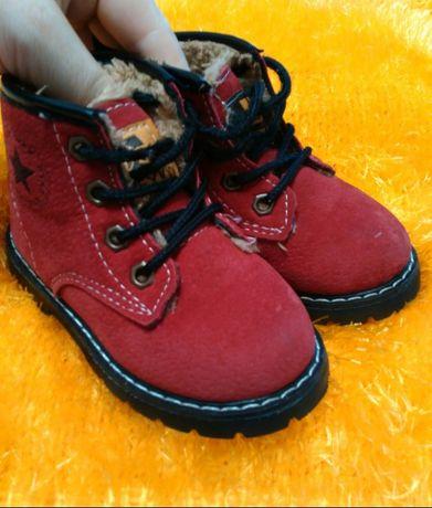 Дитячі ботиночки для двійні (дівчаток)