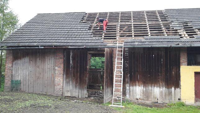 skup stodół desek starego drewna darmowe rozbiórki