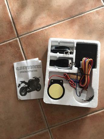 Alarme de moto novo com dois comandos