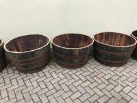 Vasos/Celhas/Dornas de madeira usados - Grandes