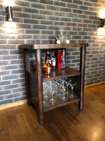 Stary stolik po renowacji