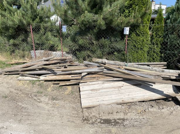 Oddam drewno budowlane