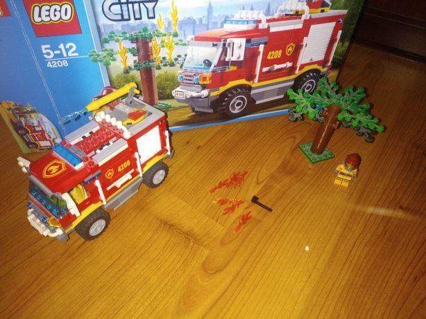 LEGO City 4208 Пожарная машина