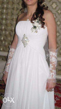 Продам свадебное платье! Оплачиваю доставку!