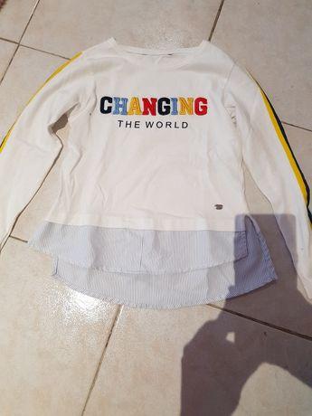 Vendo camisola com efeito camisa tamanho 6 anos