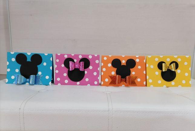 Kartka urodzinowe z myszką miki, zaproszenia dla dzieci
