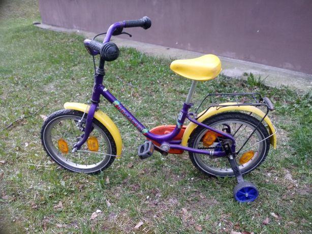 Rower dziecięcy 16 cali z kółkami bocznymi
