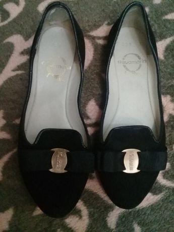 продам подростковые кожаные туфли разм 33