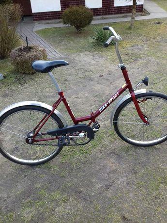 Rower składak koła 24 jubilat bike sport krzemionka