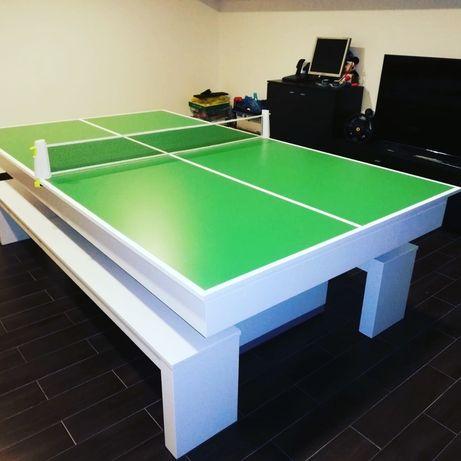BilharesEuropa Fabricante Mod Lisboa Oferta tampo de jantar ping pong