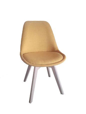 Krzesło tapicerowane fotel Kubełek jadalnia salon Niska Cena