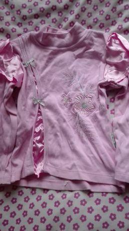 Bluzka różowa dziewczęca