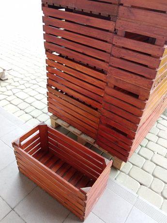Skrzynka drewniana donica/ kwietnik