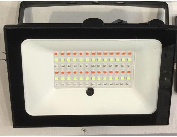Прожектор светодиодный RGB 50W с пультом дистанционного управления