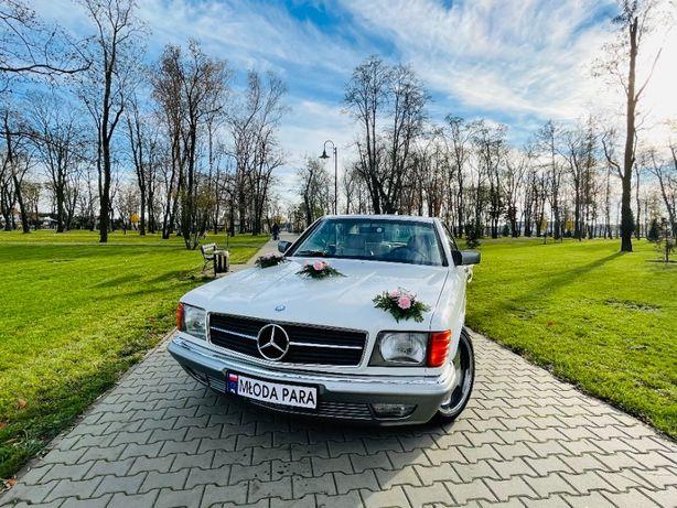 Mercedes-Benz SEC 500 piękny - jedź sam do ślubu! WYNAJEM CAŁODNIOWY