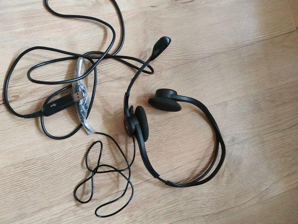 Наушники с микрофоном гарнитура logitech 960