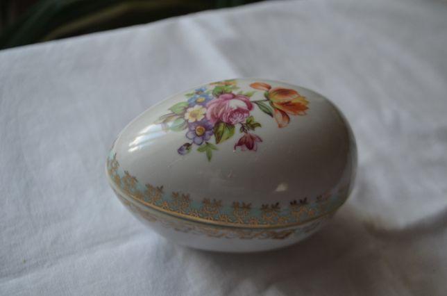 jajko puzderko porcelana sygnowane