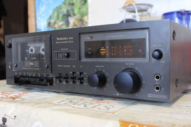 Technics M33 Кассетная Дека  (Pioneer, Onkyo, Panasonic, Sony)
