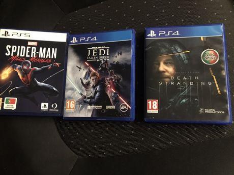 Jogos PS5 e PS4
