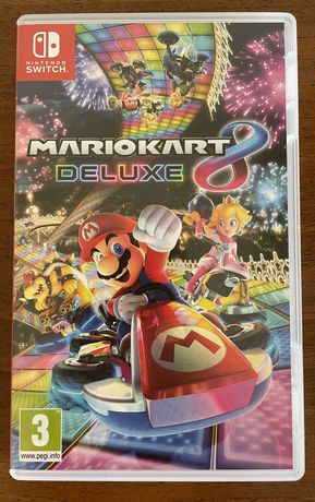 Mario Kart 8 Deluxe Nintendo Switch. Ideał!