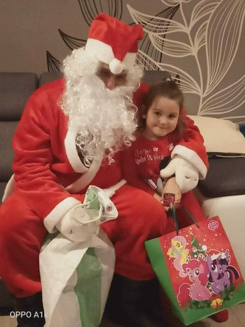 Wizyta Świętego Mikołaja Ho Ho ho