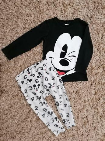 Komplet Miki, Mickey, myszka, h&m, rozmiar 92