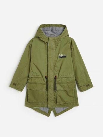Куртка парка на мальчика 152 р.