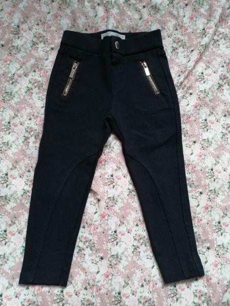 Zara piękne spodnie legginsy leginsy legi 98 104