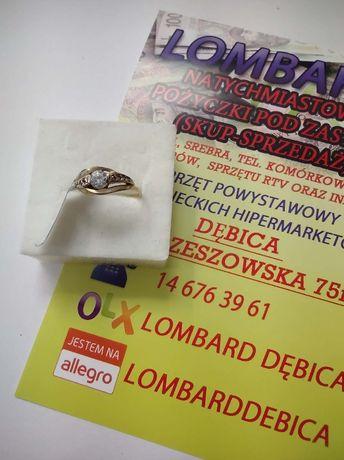Złoty pierścionek PR.585 Waga 1,42g r.13 ! Lombard Dębica
