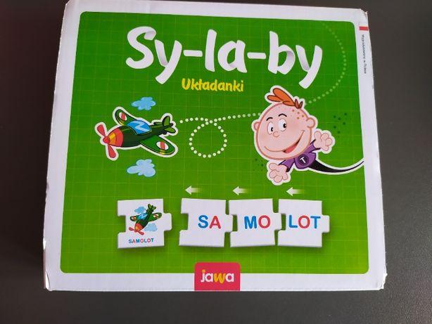 Gra sylaby - układanki TREFL