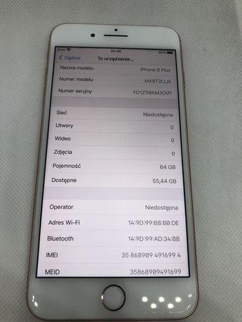 Iphone 8 Plus 64GB/ Rose Gold