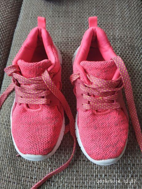 R.29 adidasy różowe materiał Nike tanjun