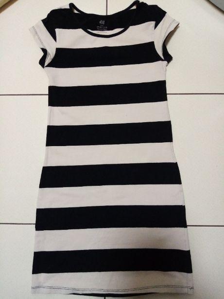 Стильное трикотажное платье h&m 9-11 лет