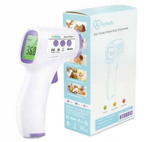 HeTaiDa HTD 8813 termometr bezkontaktowy bezdotykowy wielofunkcyjny