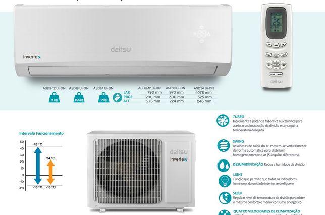 Ar Condicionado Daitsu Inverter 9000 Btus