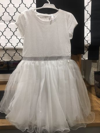 Sukieneczka biała coccodrillo 140