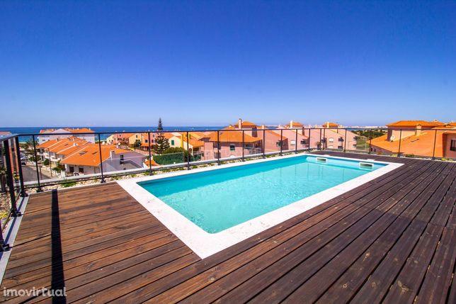 T3 com piscina na Praia Consolação