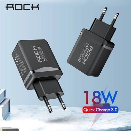 Сетевое Зарядное Устройство Rock/Marjay Quick Charge 3.0, 18Вт.