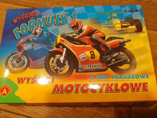 """Sprzedam grę """"Wyścigi formuły 1 i motocyklowe"""""""