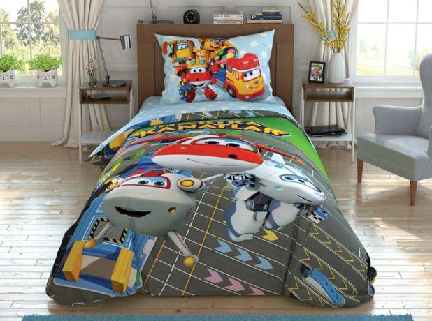 Комплект постельного детского белья Супер крылья