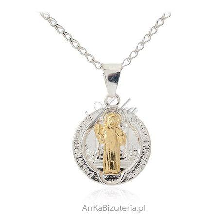 ankabizuteria.pl bizuteria z chin Łańcuszek srebrny rodowany kulka dia