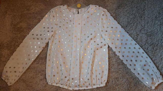 Блузка нарядная в горошек zibi