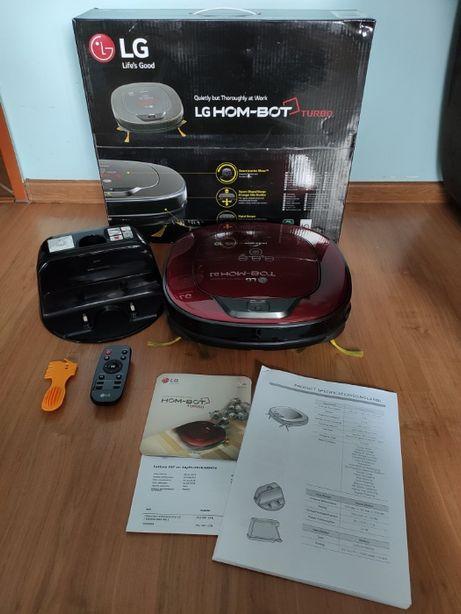 Robot odkurzacz automatyczny LG HomBot VR8601RR | filtr HEPA 11 IDEAŁ