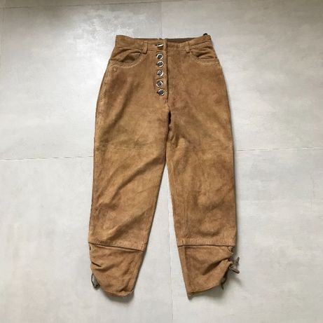 Кожаные брюки момы brunello cucinelli