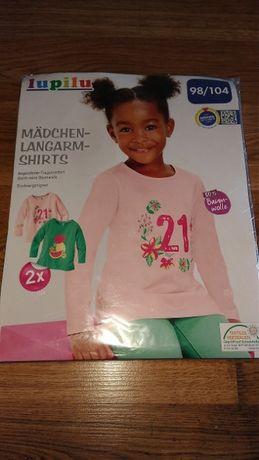 bluzki dziewczęce roz. 98-104 NOWE