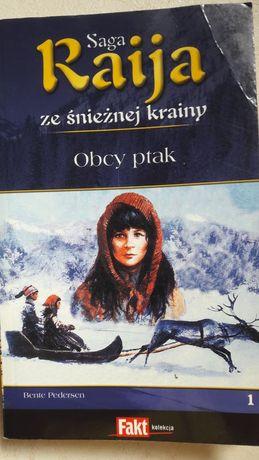 Książka. Raija ze śnieżnej krainy.