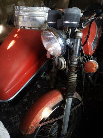 Ява-634 з коляскою (6v)+з/ч