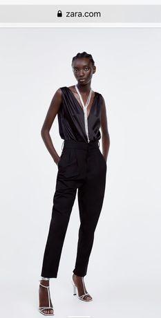 Боди Zara размер S топ блузка рубашка футболка