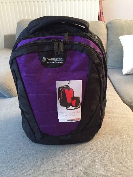 Plecak Colorissimo – pomieści laptop, książki, elektronikę i inne